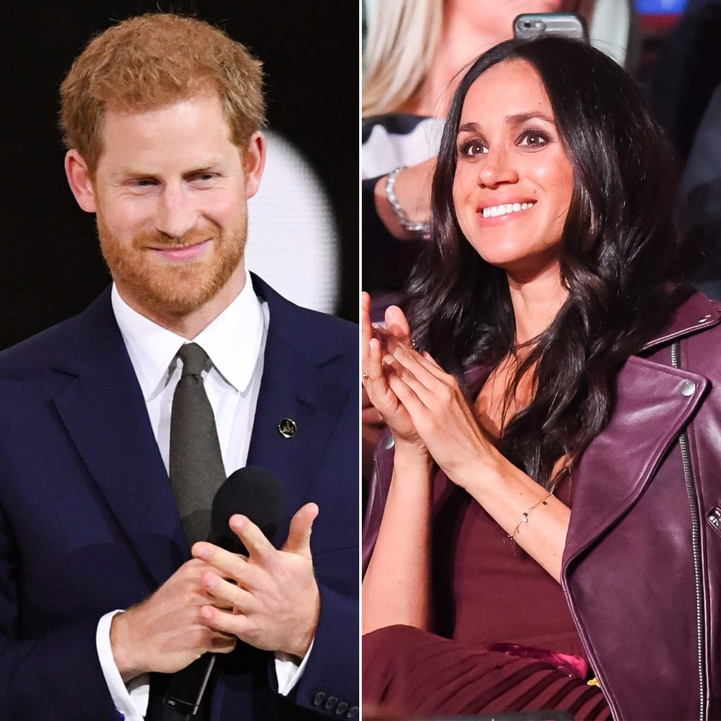 Prince Harry and Meghan Markle at 2017 Invictus Games