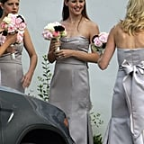 Jennifer Garner was all smiles at a wedding in Montecito, CA in October 2006.