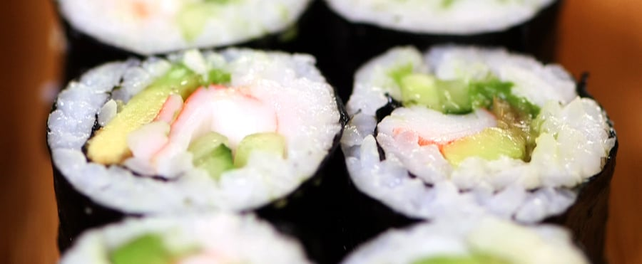 California Sushi Roll Recipe | Video