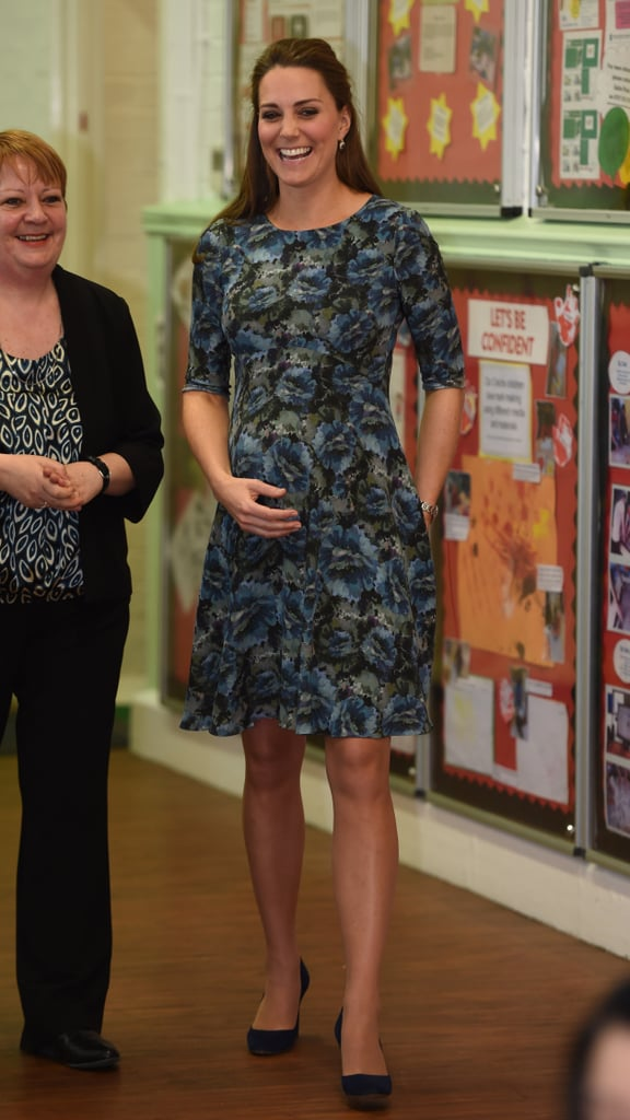 The Florrie printed maternity dress (£65), which she first wore in 2015, also seems to be a staple in Kate's wardrobe.