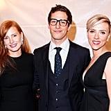 Jessica Chastain, Andy Samberg, and Scarlett Johansson