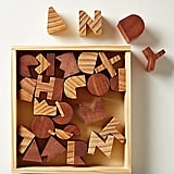 Alphabet Wooden Block Set