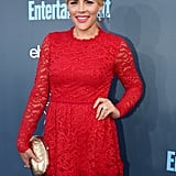 Busy Philipps and Michelle Williams at Critics' Choice 2017