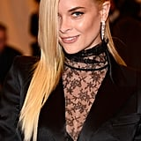 The Met Gala red carpet was filled with avant-garde hair accessories, and Jaime King's golden wreath was your top pick.