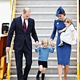 The Royal Family Arriving in Canada September 2016