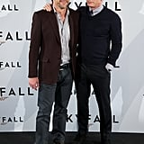 Javier Bardem and Daniel Craig brought Skyfall to Madrid.