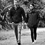 British Royal Family Black and White Photos