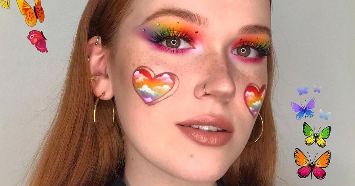 17 Colorful and Fun Pride Makeup Looks That Will Blow Everyone Away
