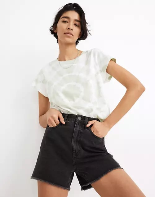 Madewell The Momjean Short in Ainslie Wash