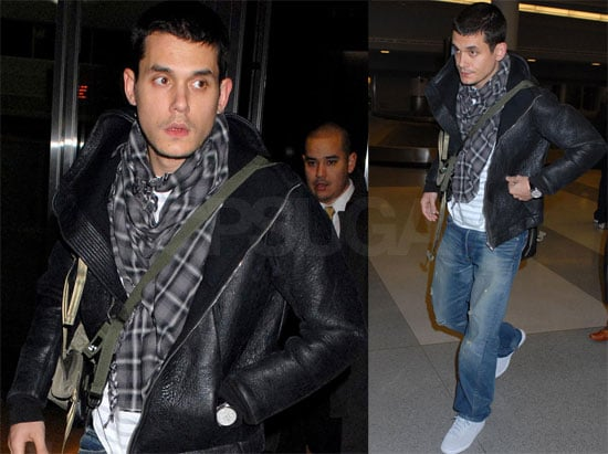 Photos of John Mayer at JFK