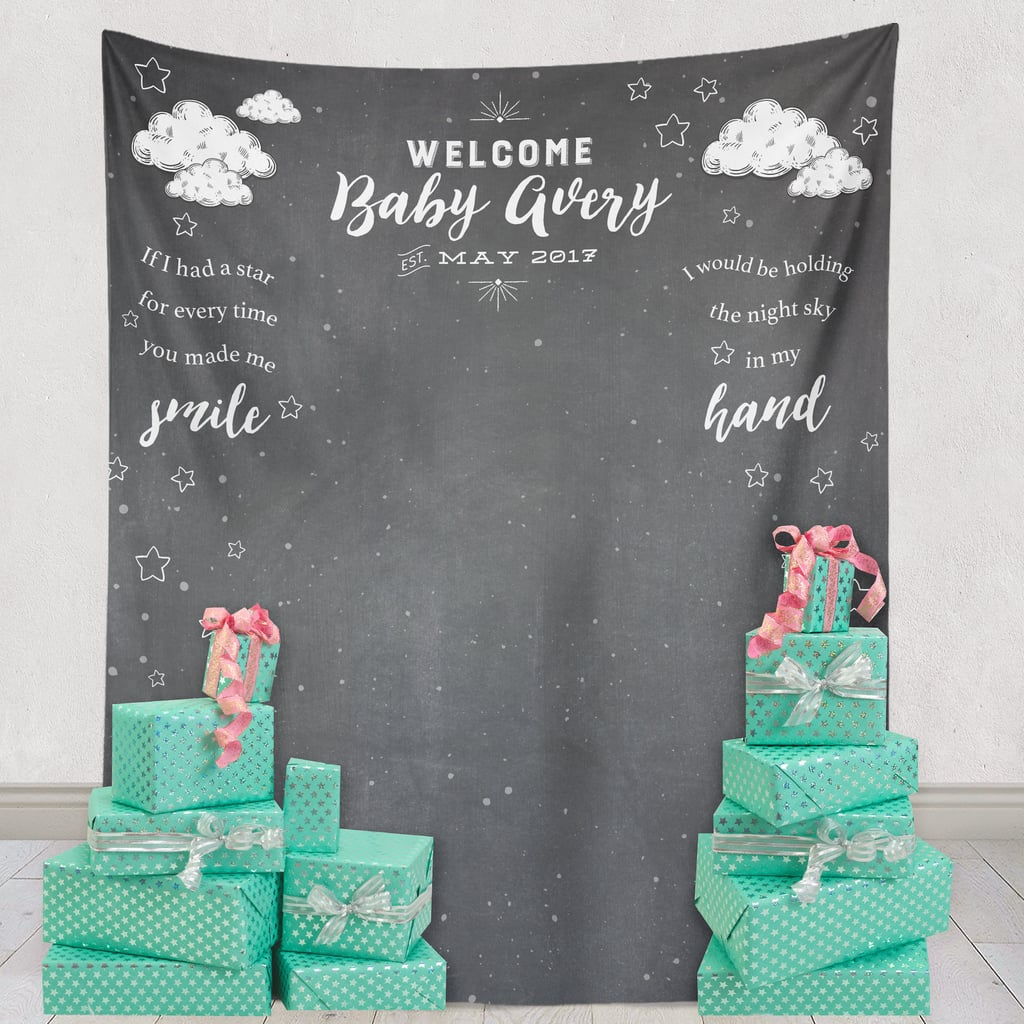 Welcome Baby Backdrop