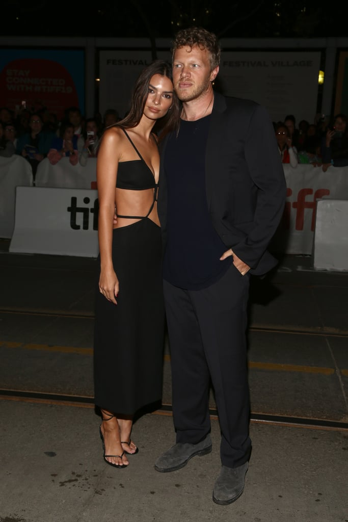 Emily Ratajkowski Wearing Steve Madden Sandals at the Toronto International Film Festival in 2019