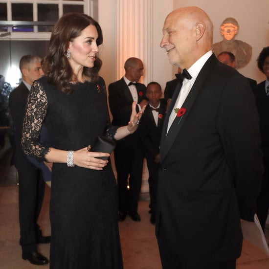 Kate Middleton's Black Lace Diane von Furstenberg Dress