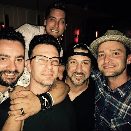 NSYNC Reunion Photo on Instagram August 2016