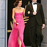Ashley Judd and Kevin Kline made an entrance during the Cannes Film Festival closing ceremony in 2004.