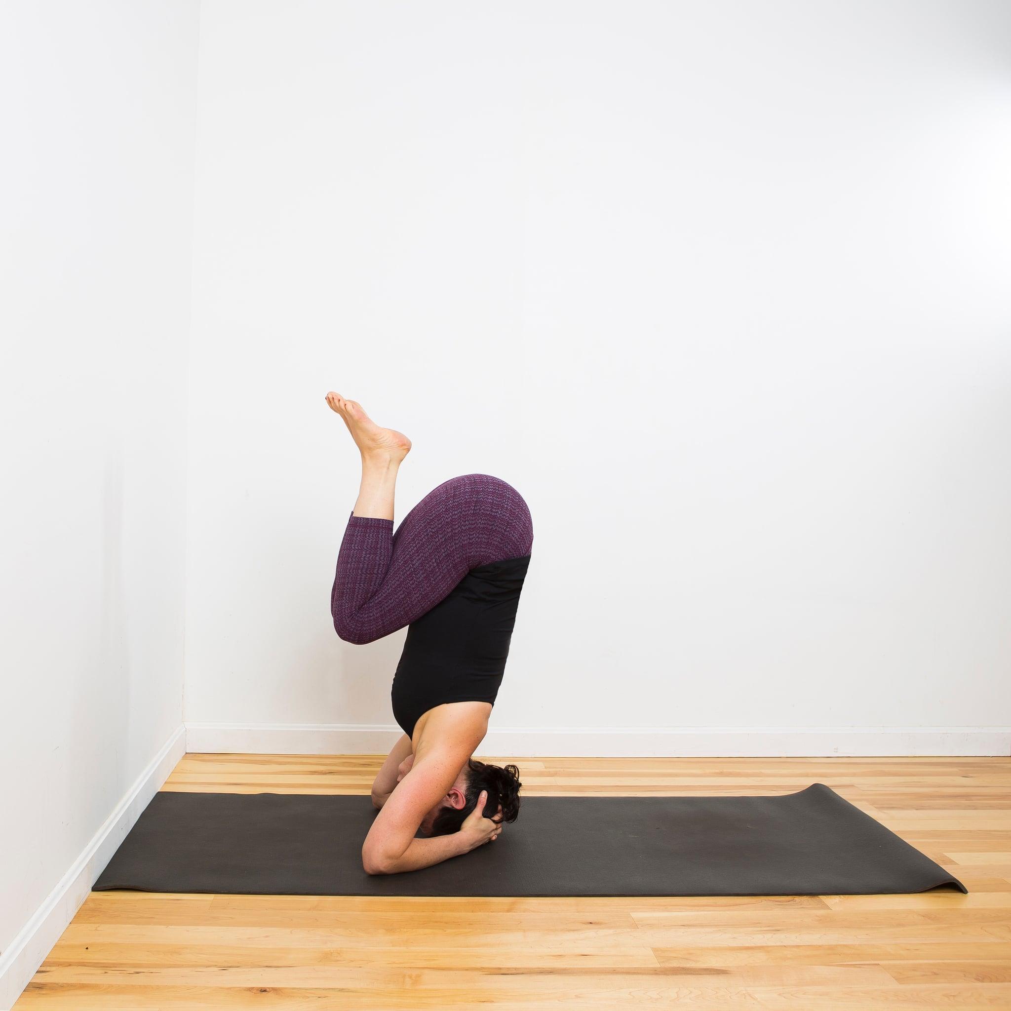 Yoga Headstand Core Strength