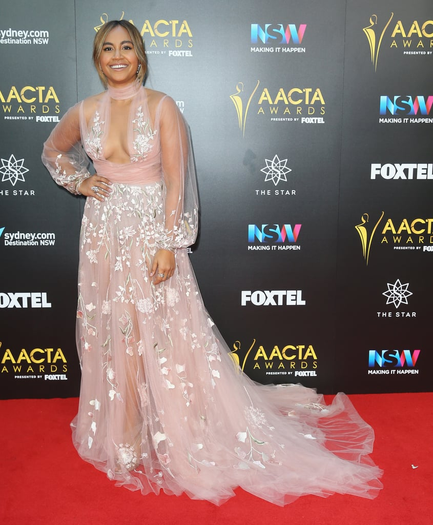 Jessica Mauboy at the 2016 AACTA Awards