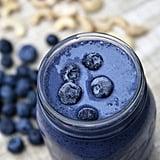 Vegetarian: Blueberry Cheesecake Smoothie