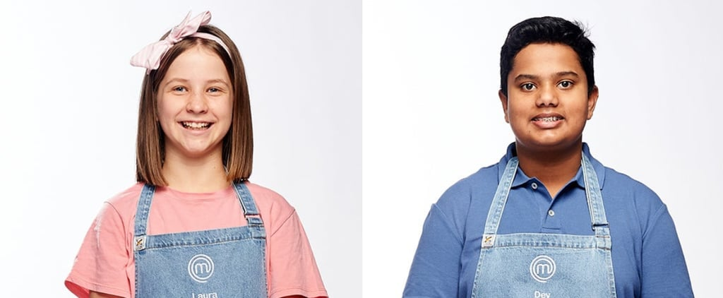 Dev and Laura Win the Immunity Gong on Junior MasterChef