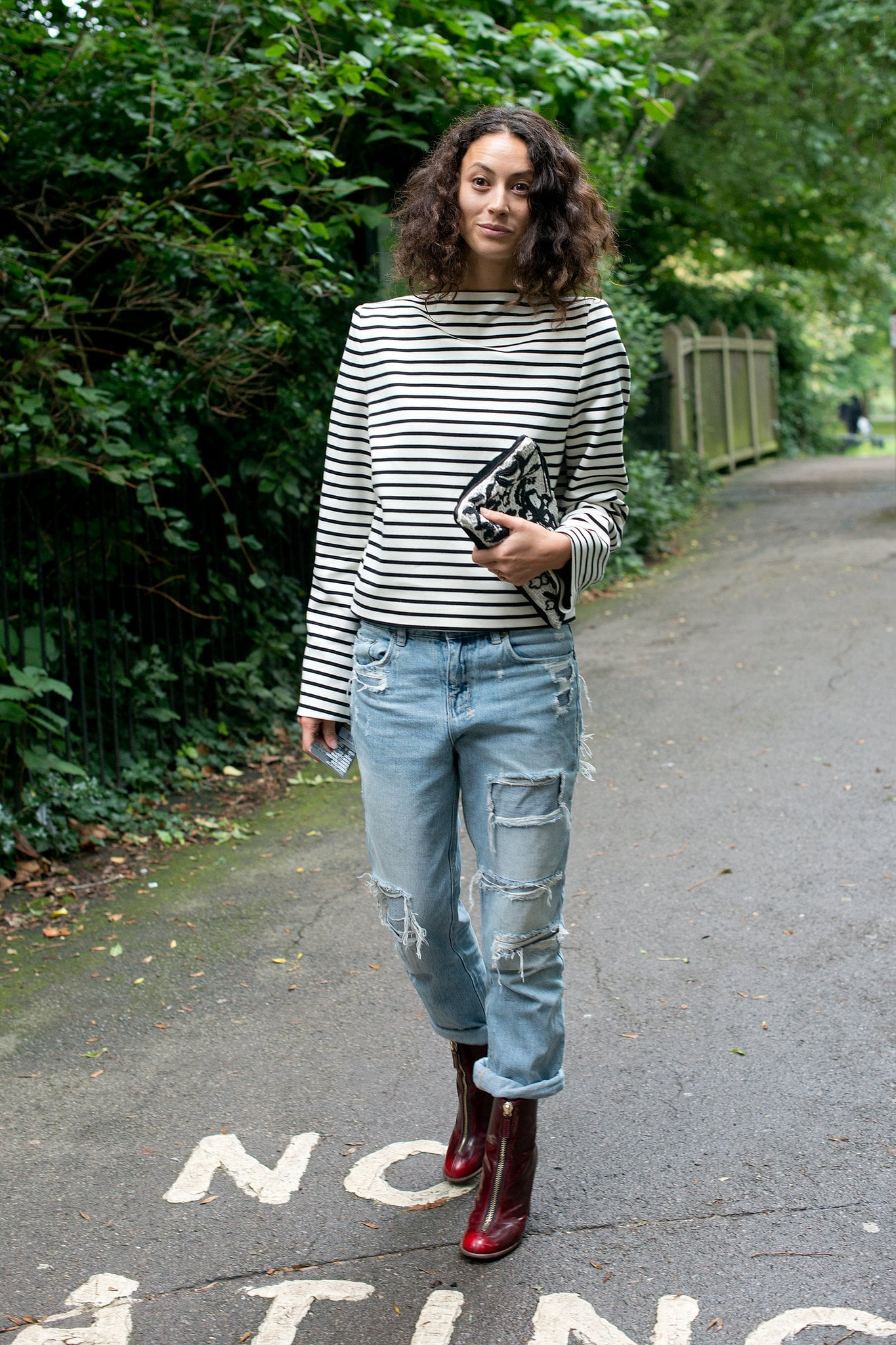 With Stripes