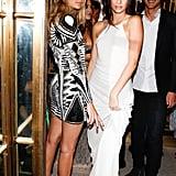 She danced the night away alongside her model BFF Gigi Hadid.