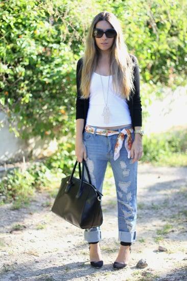 Boyfriend's jeans