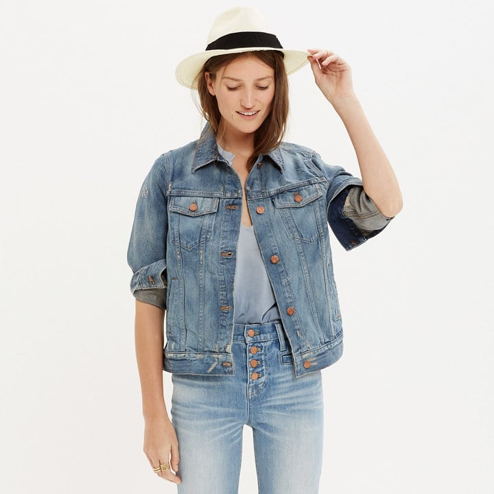 Madewell The Jean Jacket in Ellery Wash ($118)