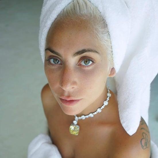 Lady Gaga's Best No-Makeup Selfies on Instagram