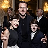 With Ryan Gosling at the 2017 BAFTA Tea Party