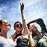 Josephine Skriver, Hailey Baldwin, and Kendall Jenner Rocked Out Under Blue Skies