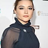 Florence Pugh's Dark Eye Makeup, 2018