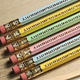 Pack of Six Pi Pencils