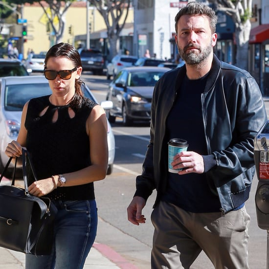 Jennifer Garner and Ben Affleck in Santa Monica Nov. 2016