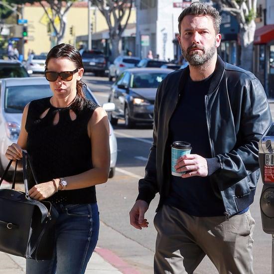 Jennifer Garner and Ben Affleck in Santa Monica Nov. 2016