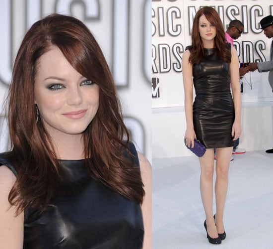 Easy A Star Emma Stone at 2010 MTV VMAs