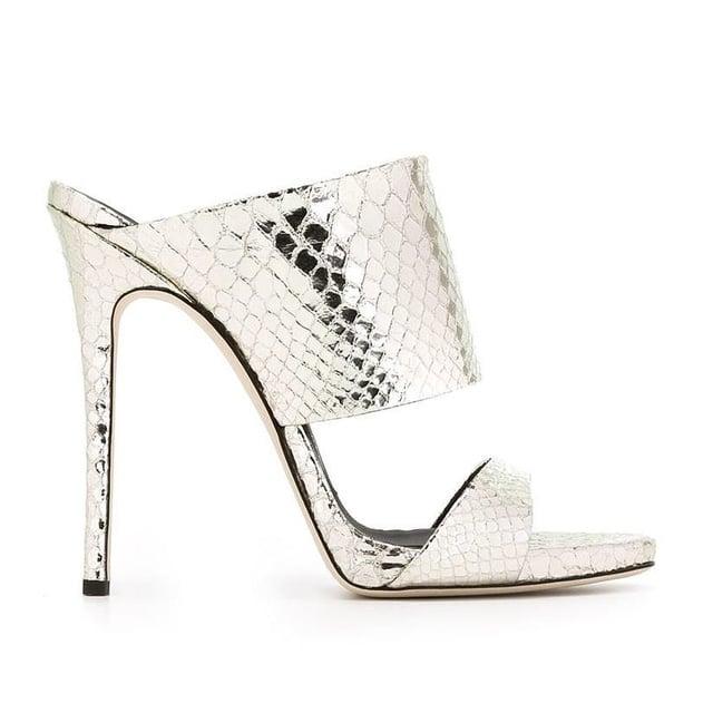Giuseppe Zanotti Design Double Strap Mules ($703)