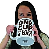 BigMouth Inc. One Cup of Coffee Gigantic Mug