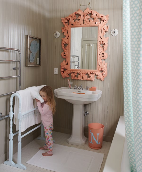 outstanding kids bathroom color | Totally Chic Kids Bathroom | Kids Bathroom Decor Ideas ...