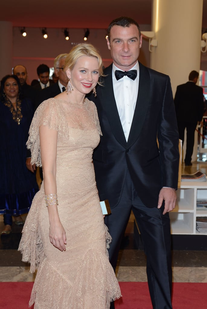 Naomi Watts and Liev Schreiber looked cute together at the premiere of The Reluctant Fundamentalist.
