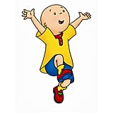 Why is Caillou bald?