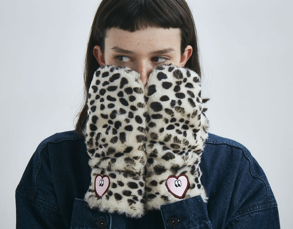 Lazy Oaf Kitty Mittens