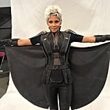 Halle Berry spread her cape as Storm. Source: Twitter user BryanSinger
