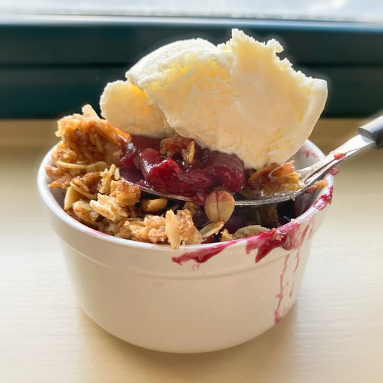 Joanna Gaines's Cherry-Almond Crisp Recipe and Photos