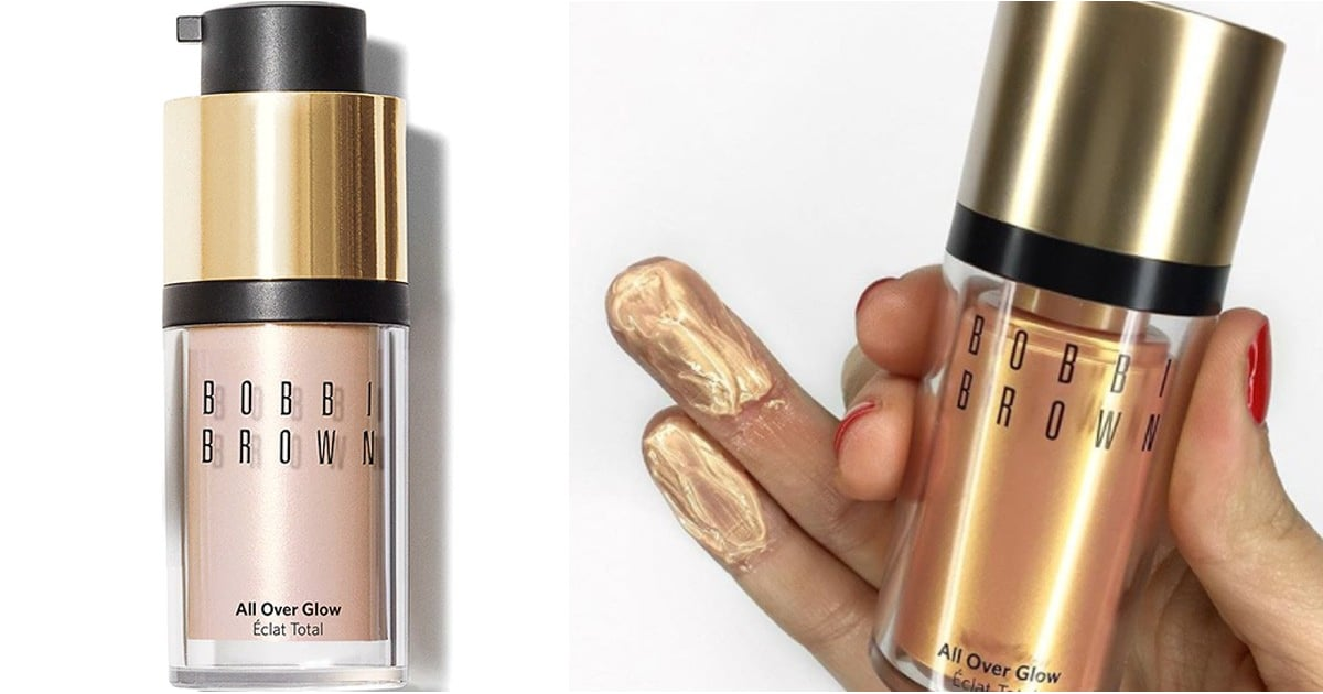 """This Rose Gold Bobbi Brown Liquid Highlighter Is """"Like a Ring Light in a Bottle"""""""