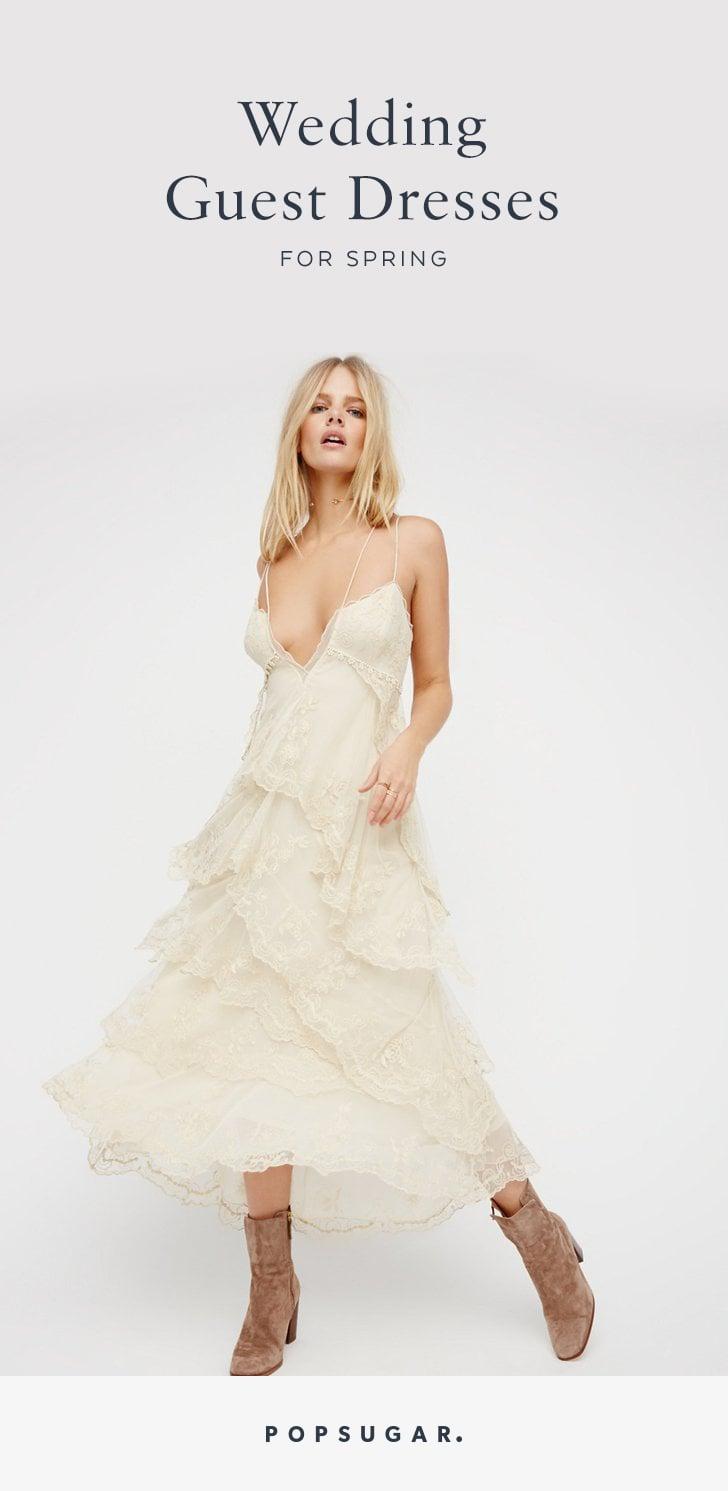 Wedding guest dresses for spring popsugar fashion for Dresses for wedding guests spring