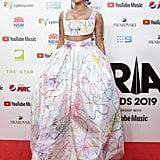 Halsey's Rainbow Dress at the 2019 ARIA Awards