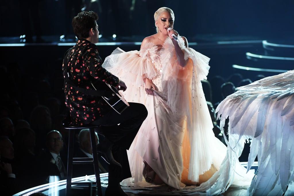 Lady Gaga in an Armani Privé Gown