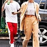 Street Style Justin Bieber and Hailey Baldwin