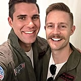 Maverick and Goose From Top Gun
