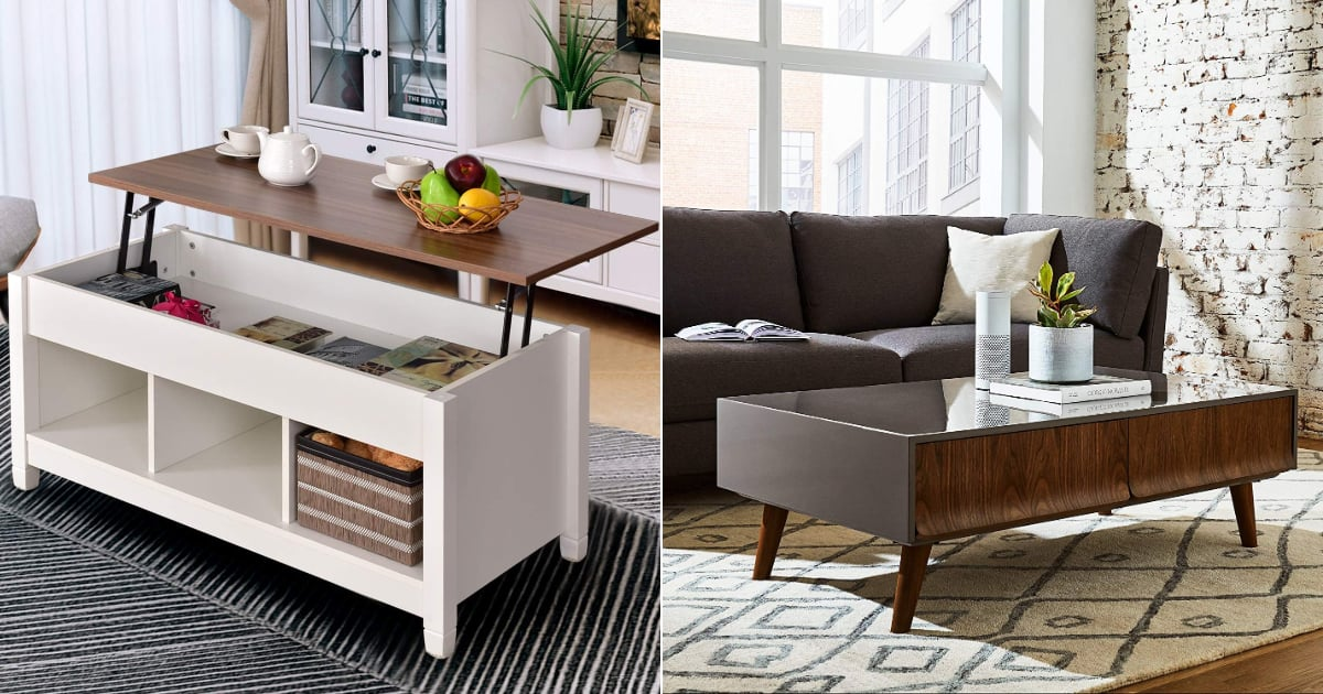 Most Stylish and Space-Saving Coffee Tables on Amazon ...